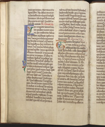 Decorated Initials And Colour-Notes, In Ailred Of Rievaulx's 'Lives Of Hexham Saints'